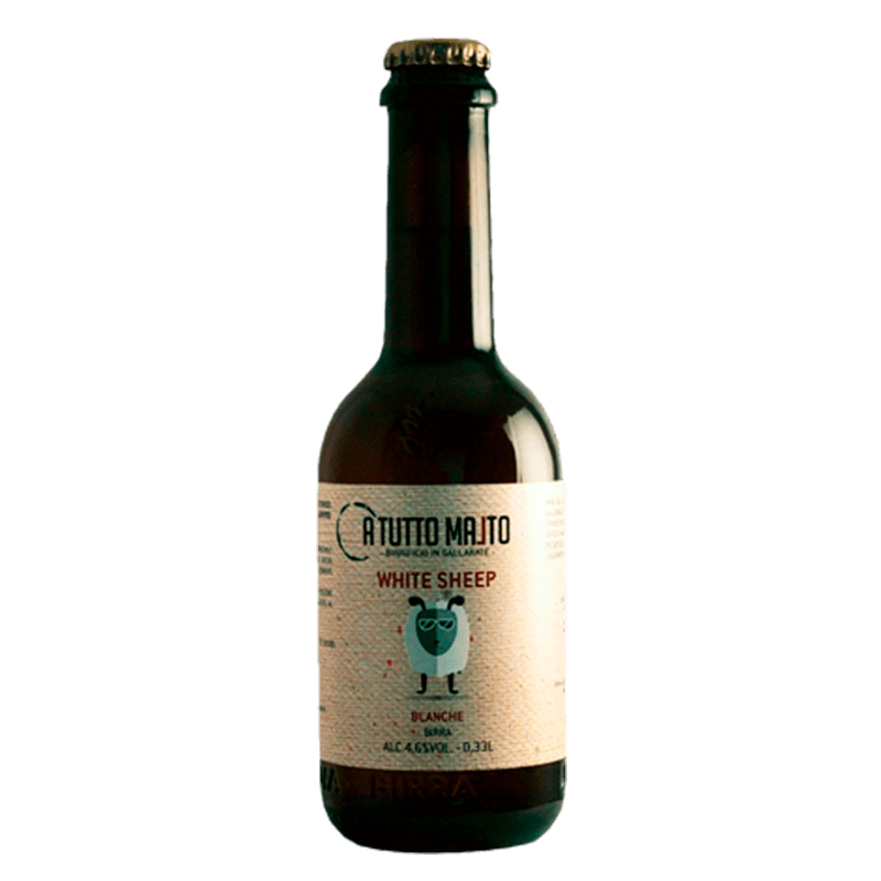 BIRRA WHITE SHEEP lt. 0.75 (Blanche)