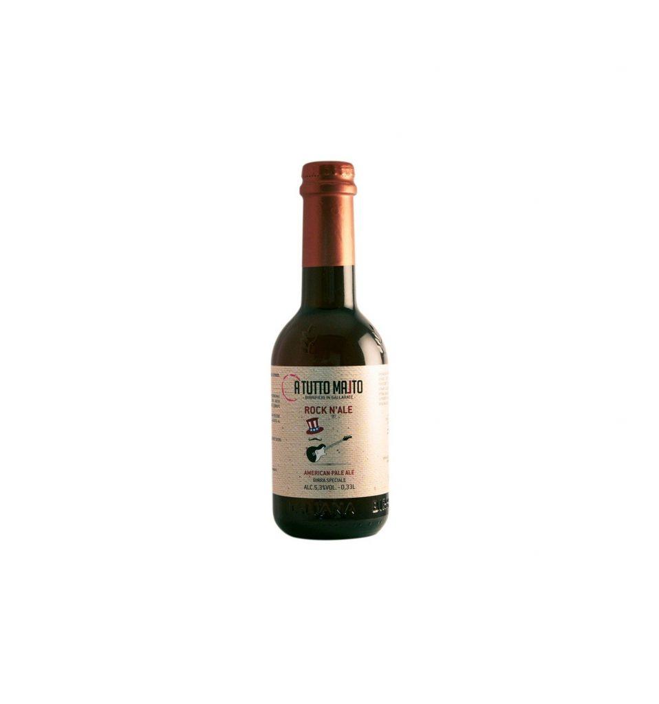 BIRRA ROCK N' ALE lt. 0.33 (American Pale Ale)
