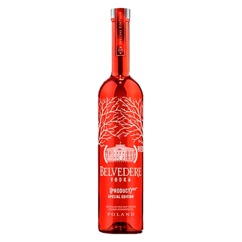 VODKA BELVEDERE RED LIMITED EDITION