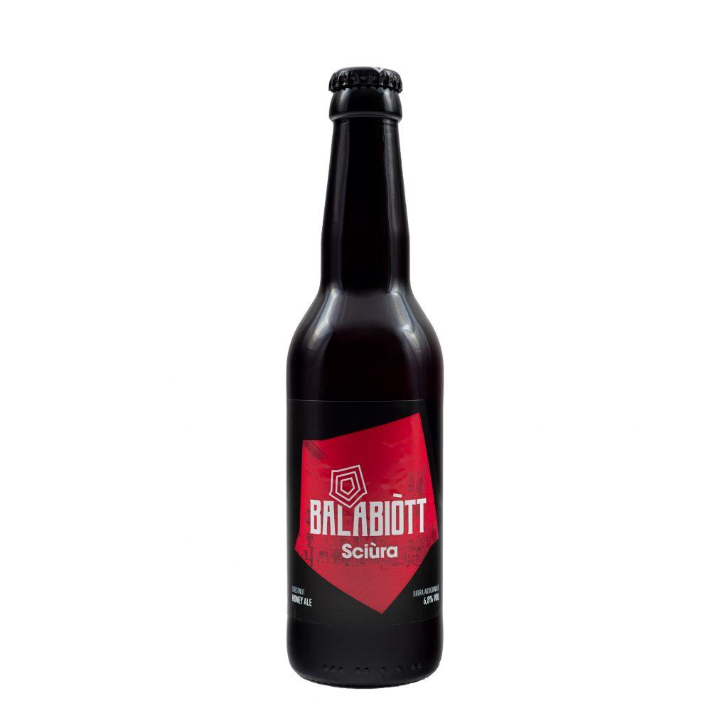 Birra SCIURA lt. 0.33 (Red Ale al Miele di Castagno)