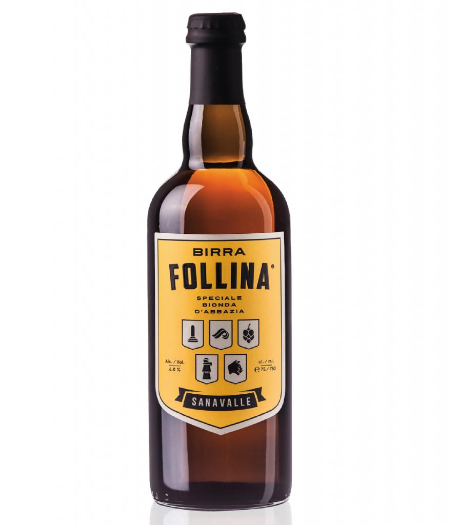 BIRRA FOLLINA SANAVALLE LT. 0,75