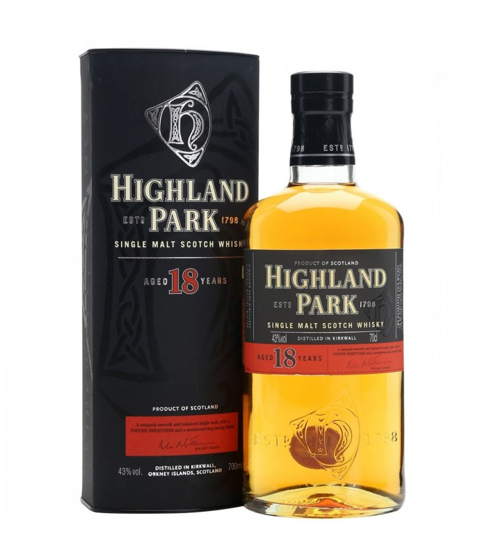 WHISKY HIGHLAND PARK 18y
