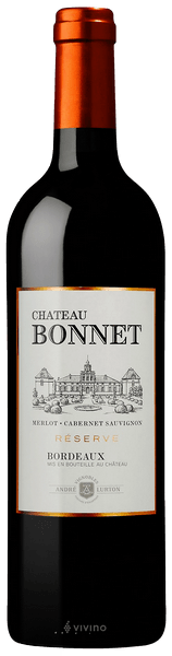 BORDEAUX ROUGE CHATEAU BONNET