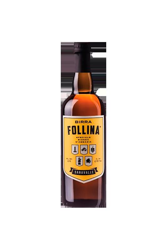 BIRRA FOLLINA SANAVALLE LT. 0.75 (Bionda d'Abbazia)