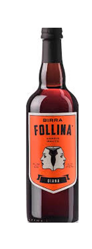 BIRRA FOLLINA GIANA LT. 0.75 (Bionda d'Abbazia)