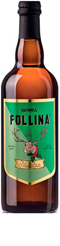 BIRRA FOLLINA NATALINA LT. 0.75 (Bionda d'Abbazia)