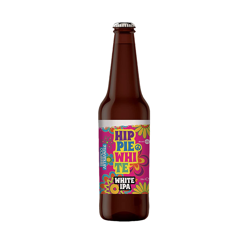 BIRRA HIPPIE WHITE LT. 0.33 (INDIA PALE ALE)