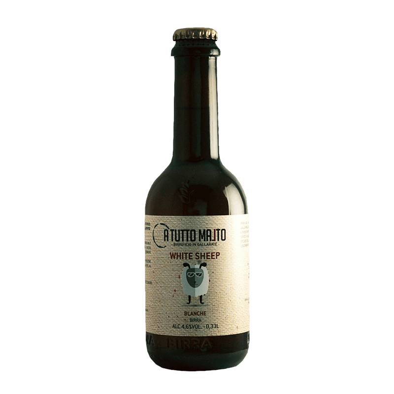 BIRRA WHITE SHEEP lt. 0.33 (Blanche)