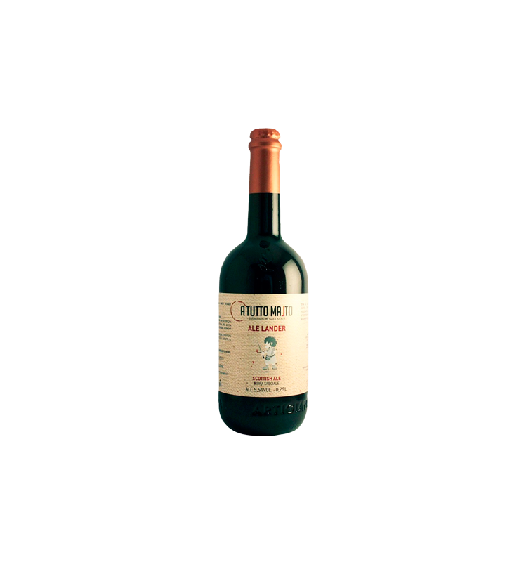 BIRRA ALE LANDER lt. 0.75 (Scotch Ale)
