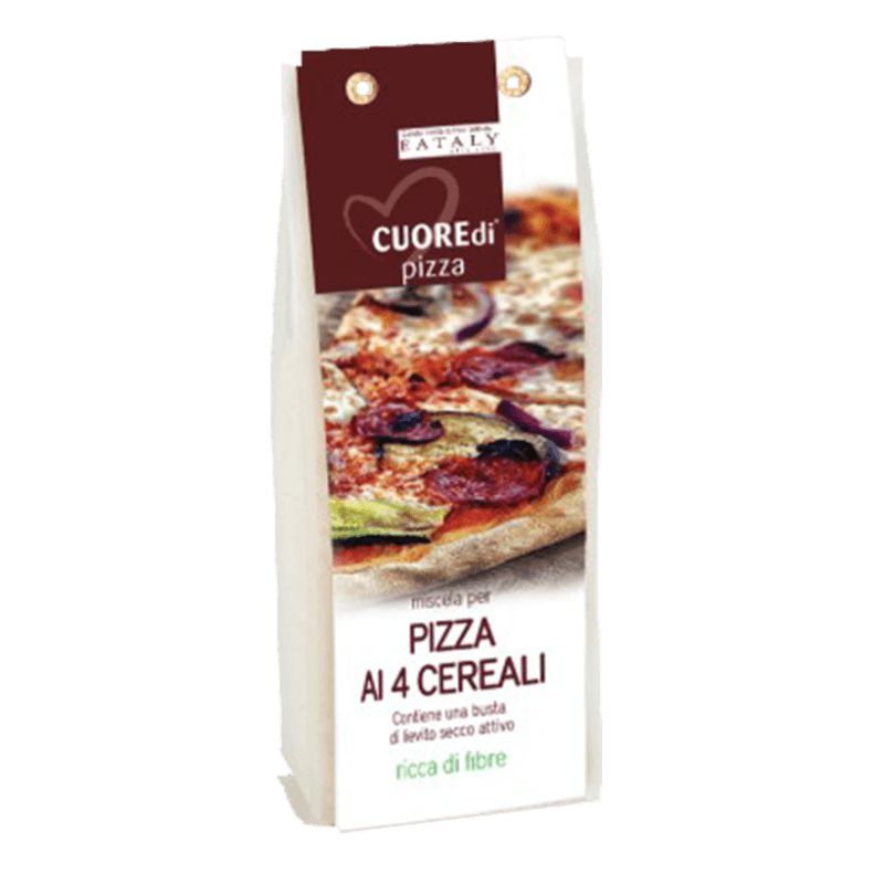 PREPARATO PER PIZZA 4 CEREALI / FOCACCIA INTEGRALE