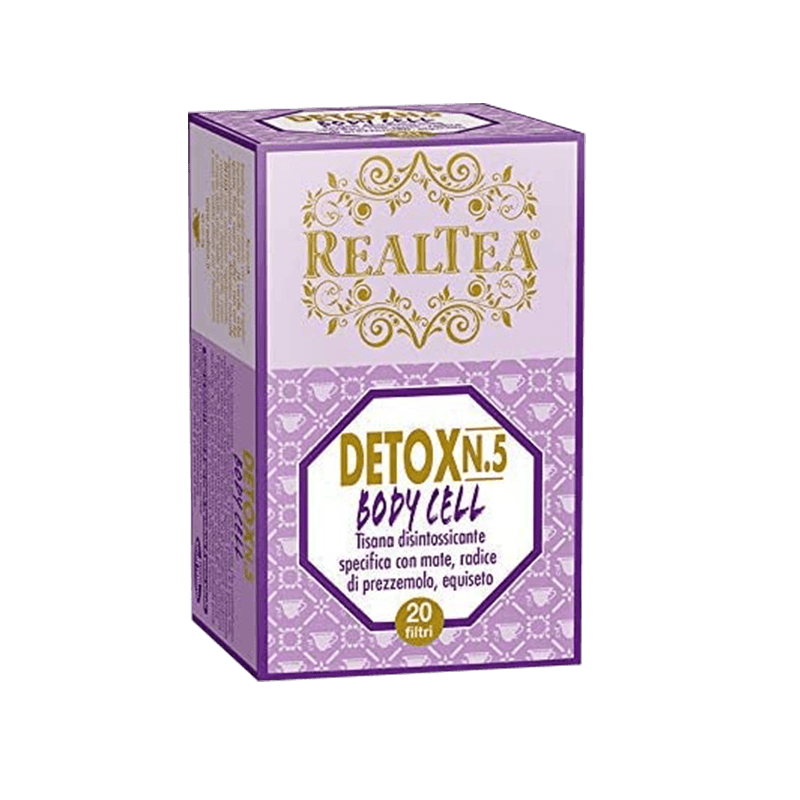 INFUSO DETOX / SLEEP WELL/ MORNING GREEN / ENERGY / DIGESTIVE 18 filtri THE REALTEA
