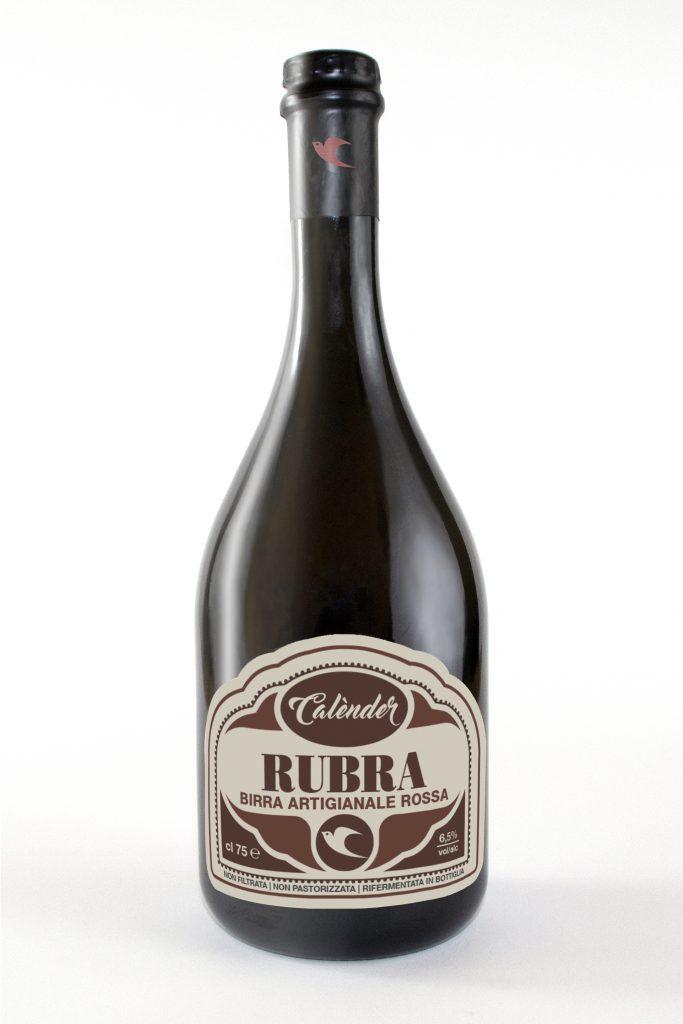 BIRRA RUBRA CL 75 BIRRIFICIO CALENDER