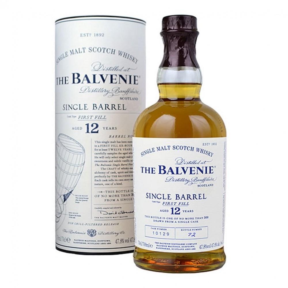 WHISKY 12 Y SINGLE BARREL BALVENIE