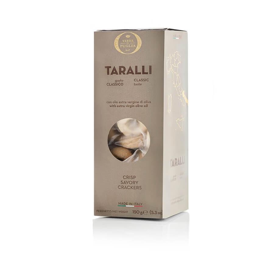 Taralli con Olio Extravergine di Oliva Terre di Puglia g 150