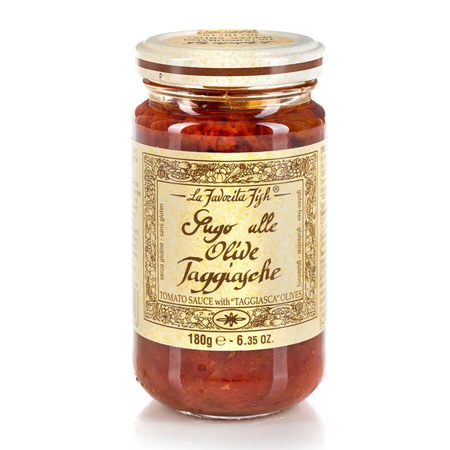Sugo alle Olive Taggiasche Gluten Free La Favorita g 180