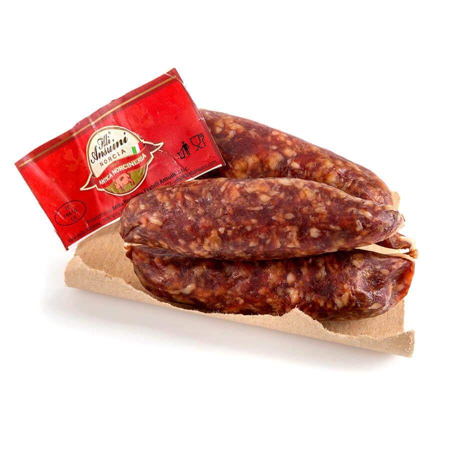 Salsiccia con Cinghiale Antica Norcineria Morelli g 300 circa