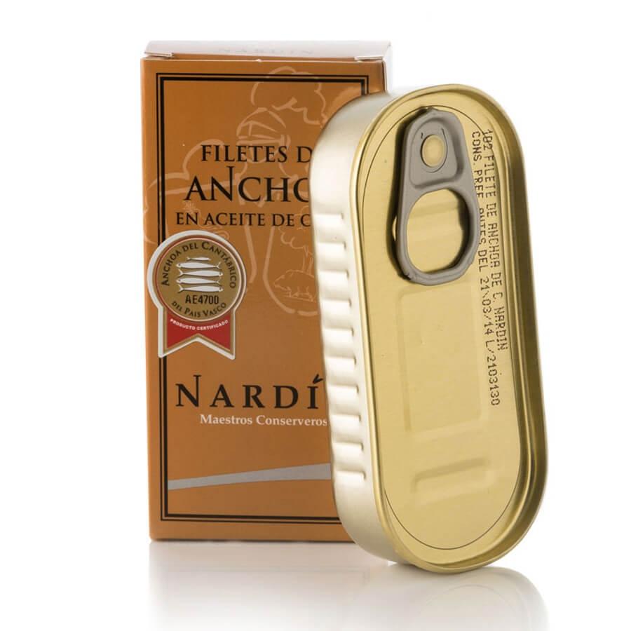 Filetti di Acciughe del Mar Cantabrico Nardin g 50