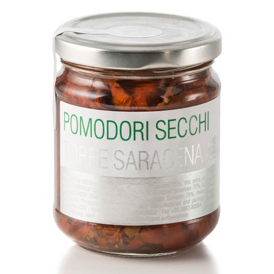 Pomodori Secchi in Olio Extravergine di Oliva Favella g 170