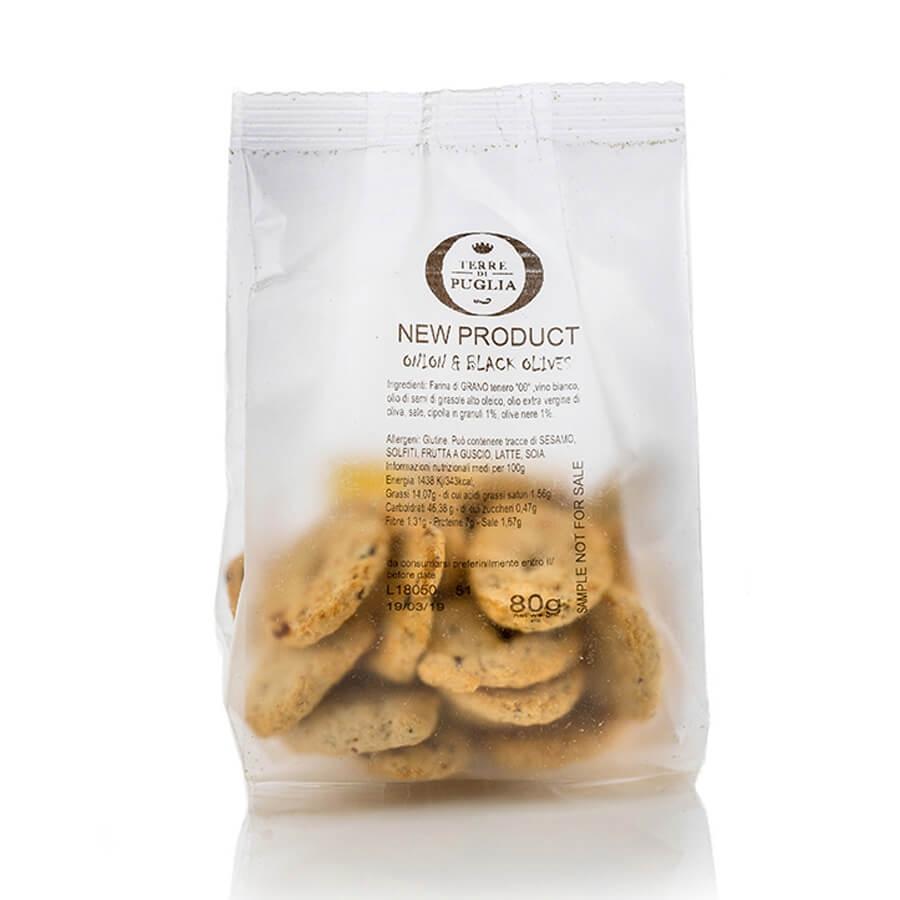 Mini Crackers Cacio e Pepe Terre di Puglia g 150