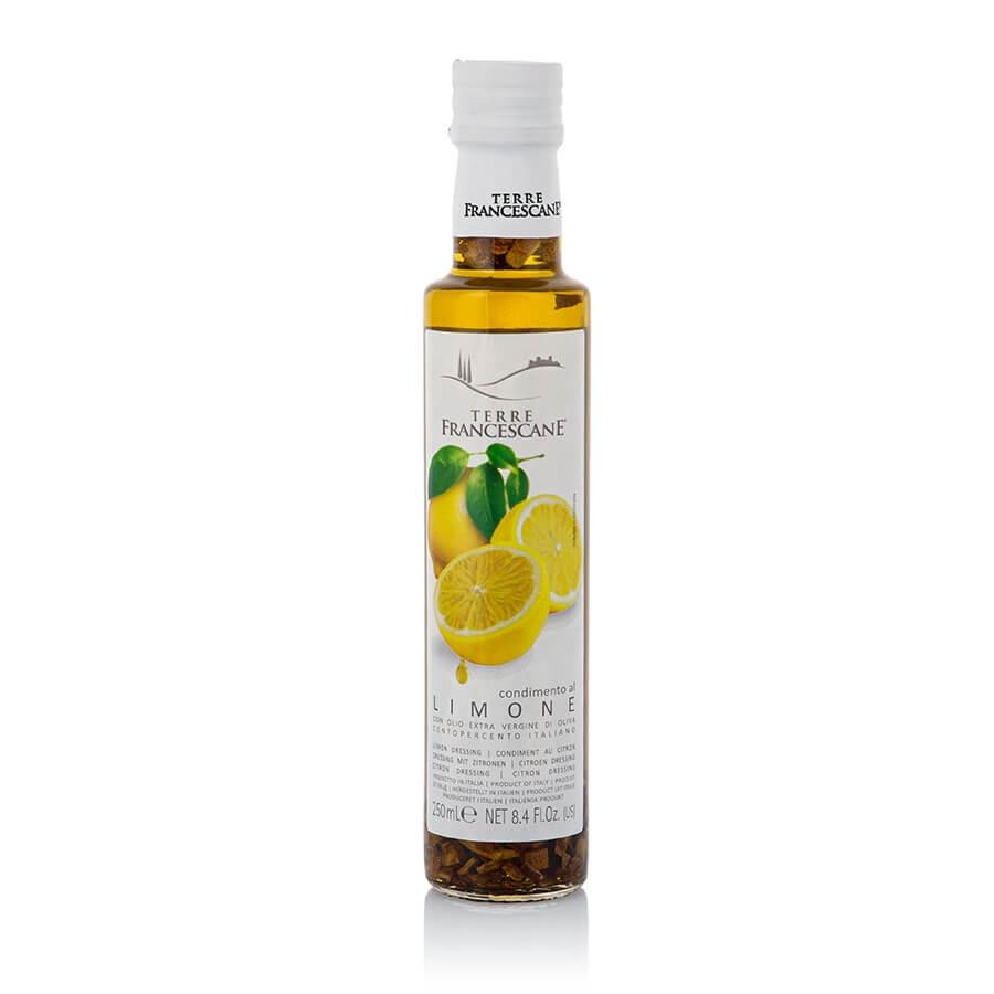 Condimento con Olio Extravergine d'Oliva al Limone Terre Francescane cl 25
