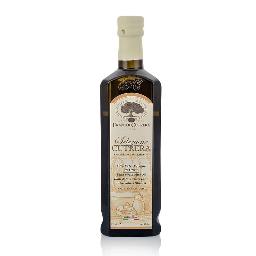 """Olio Extravergine di Oliva Italiano Blend """"Selezione Cutrera"""" Frantoi Cutrera (Sicilia) cl 50"""