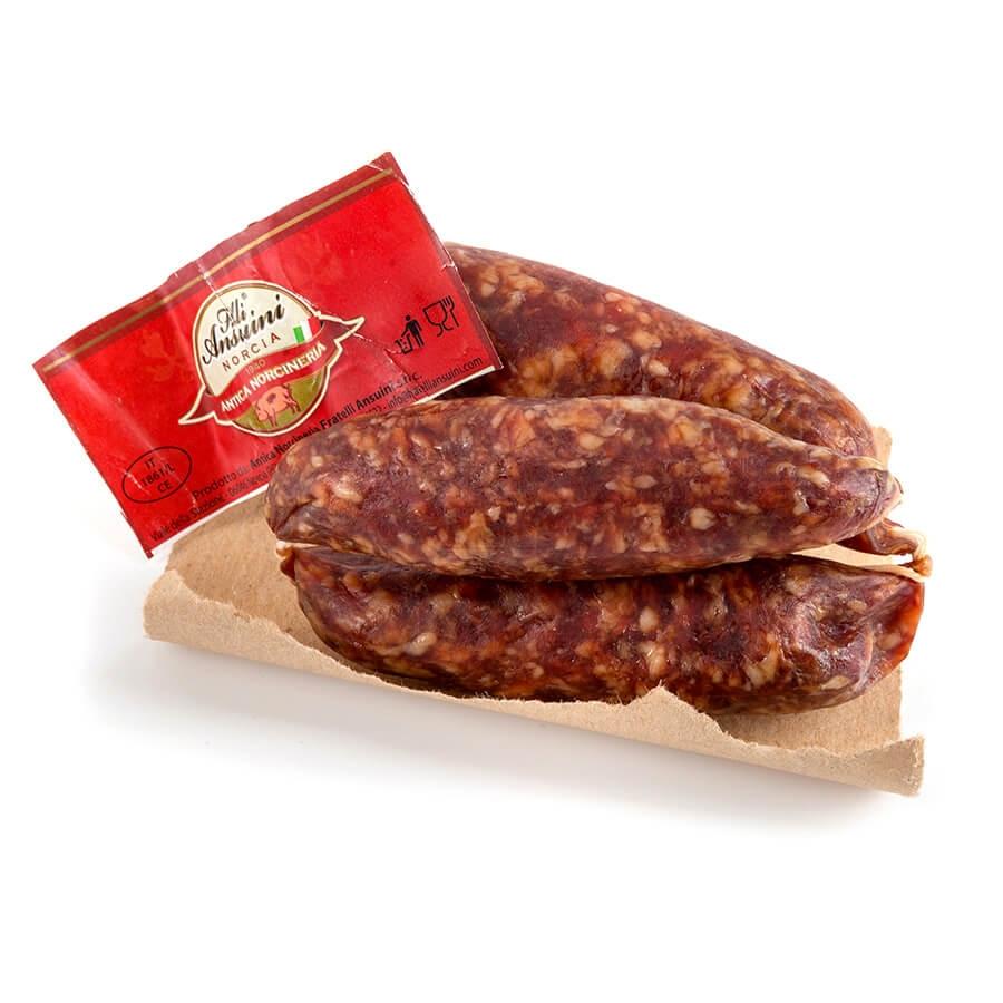 Nursinelle Salsicce di Norcia Salumificio Ansuini g 200 circa