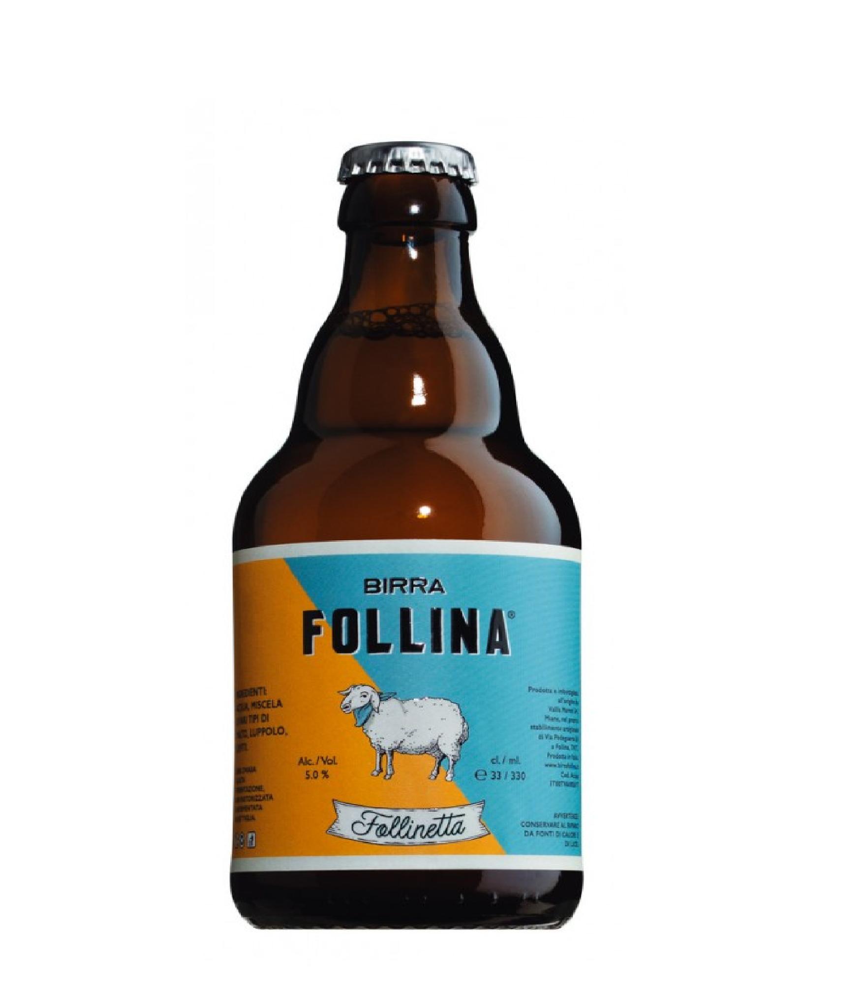 BIRRA FOLLINA FOLLINETTA LT. 0,33
