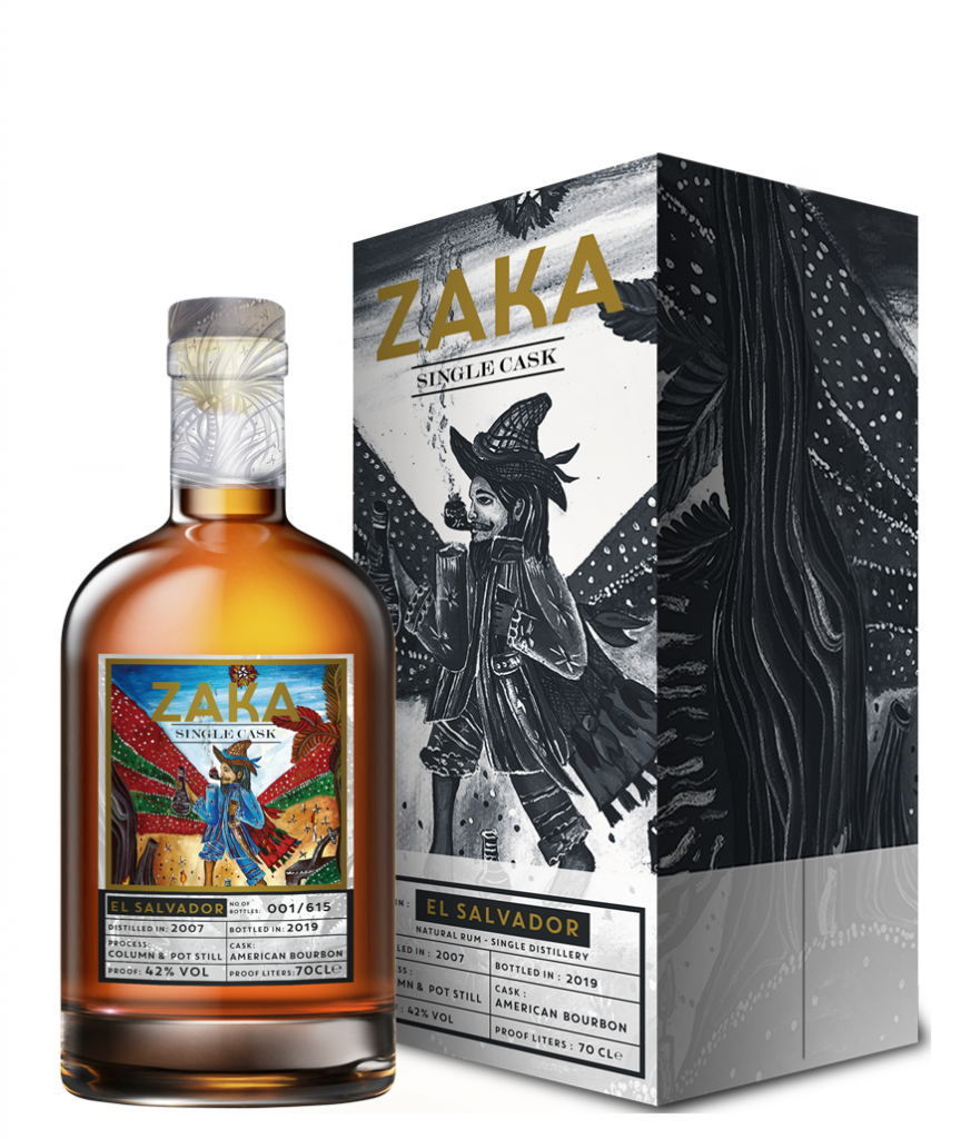 ZAKA RUM EL SALVADOR SINGLE CASK 700 ML ASTUCCIATO
