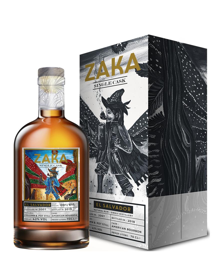 ZAKA RUM EL SALVADOR SINGLE CASK 700 ML ASTUCCIATO