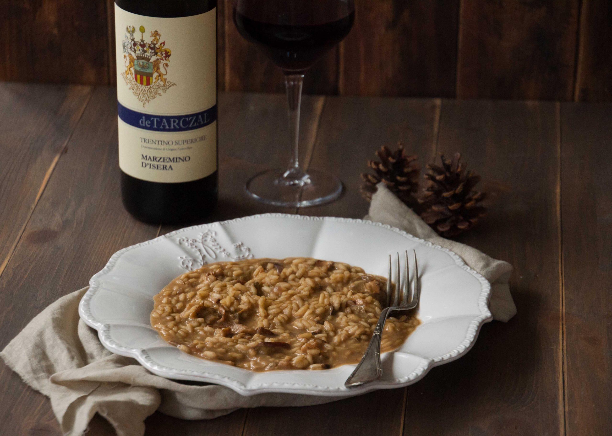 La ricetta del risotto ai porcini di Marta Tovaglieri