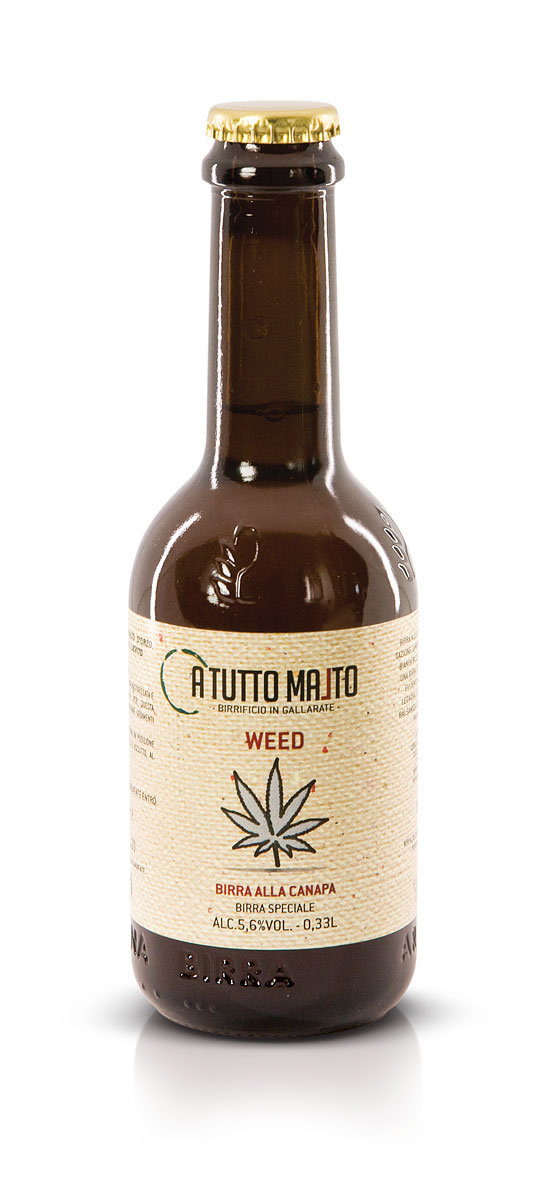 BIRRA WEED lt. 0,33 (Birra alla Canapa)