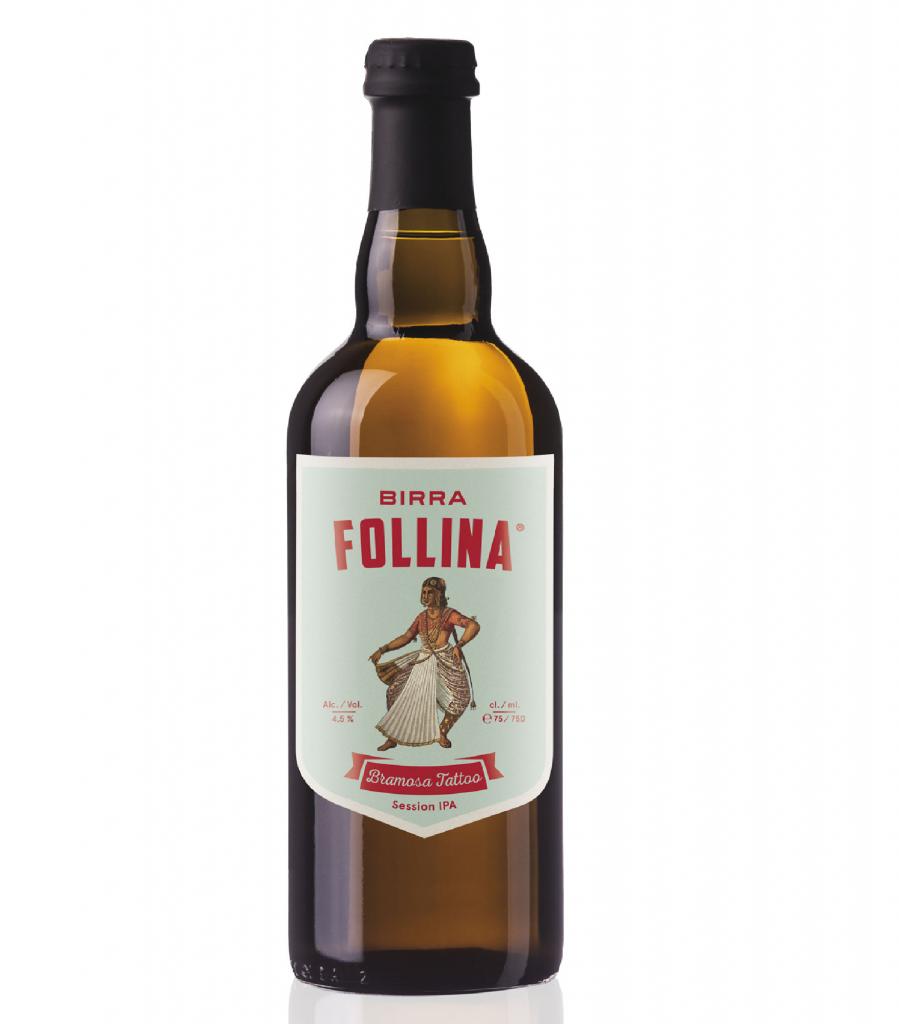 BIRRA FOLLINA BRAMOSA TATTOO LT. 0,75