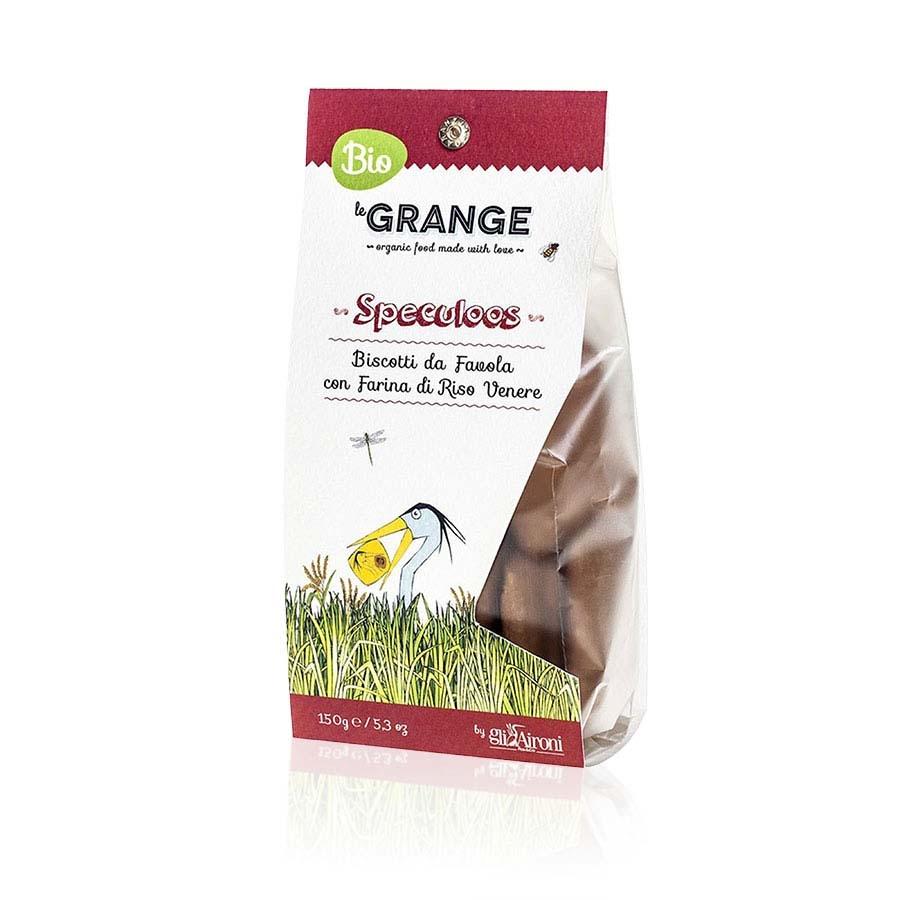Biscotto Speculoos Biologici con farina di Riso Venere Le Grange g 150