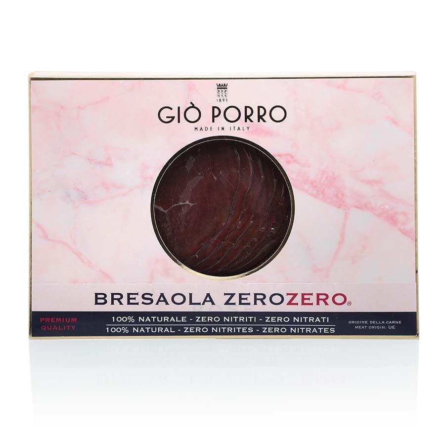 Bresaola 100% Naturale Zero Nitriti, Zero Nitrati Giò Porro g 70