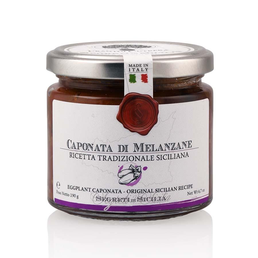 Caponata di Melanzane Ricetta Tradizionale Siciliana I Segreti di Sicilia g 190