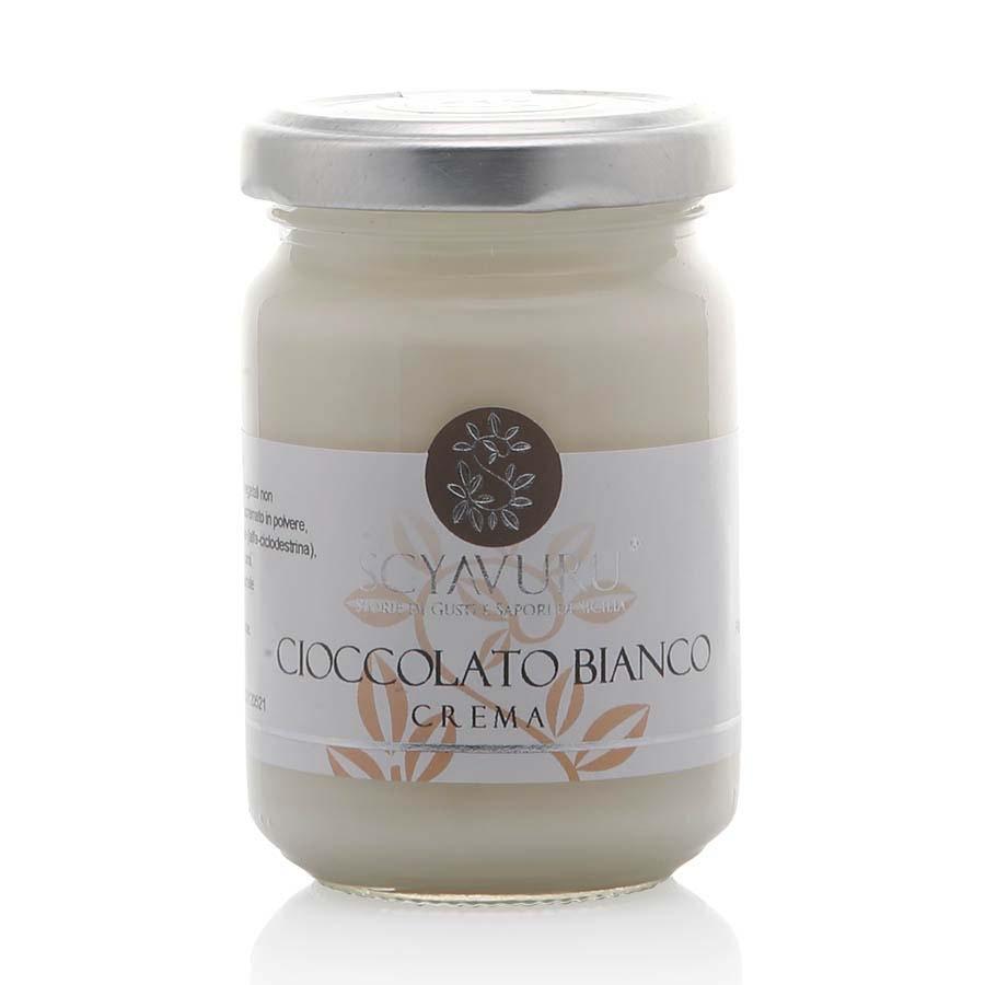 Crema al Cioccolato Bianco Scyavuru g 150