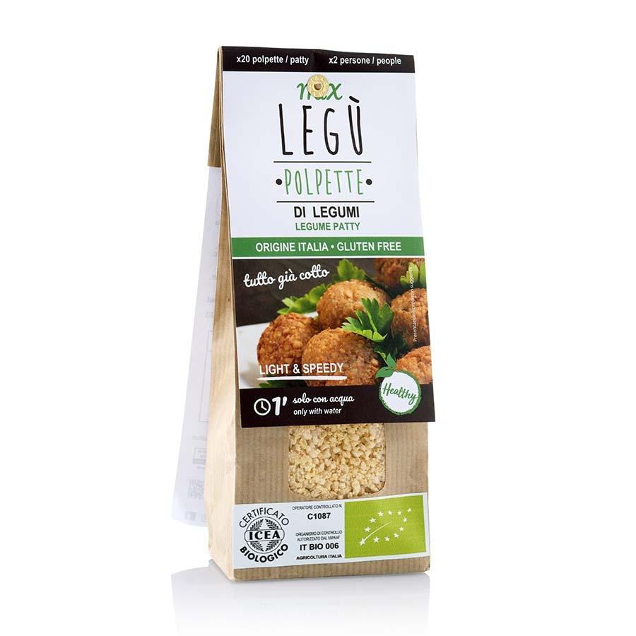 Mix Polpette Bio con Legumi Italiani Legù g 100